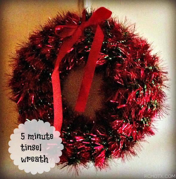 Minute tinsel wreath real cheap housewives of texas